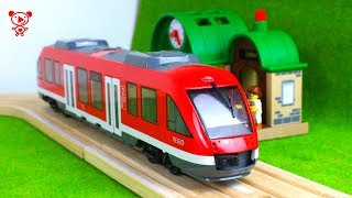 Train, tram,  bus, airplane, toy vehicles for kids