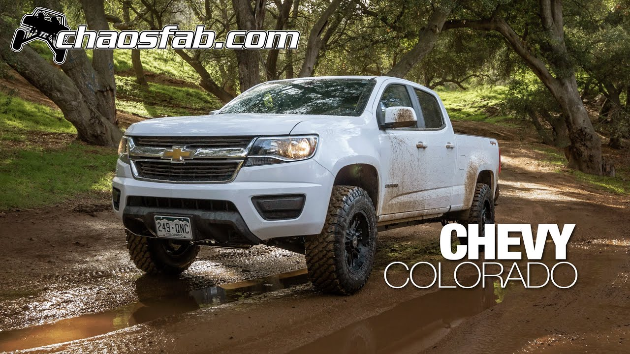 2015 Chevy Colorado Lift from Total Chaos Fabrication