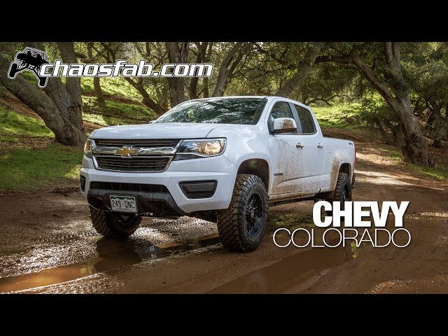 2015 Chevy Colorado Lift from Total Chaos Fabrication | GMC Canyon