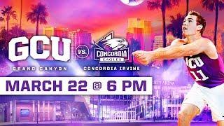 GCU Mens Volleyball Vs. Concordia  Rvine March 22 2019