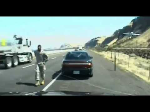 Soldier Shoots Oregon Trooper Captured on Video - Raw and Graphic