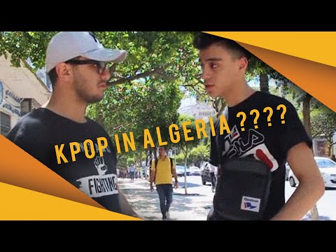 [Special Video] Opinion of the Algerian citizens about the 'KPOP' Music and its fans !!