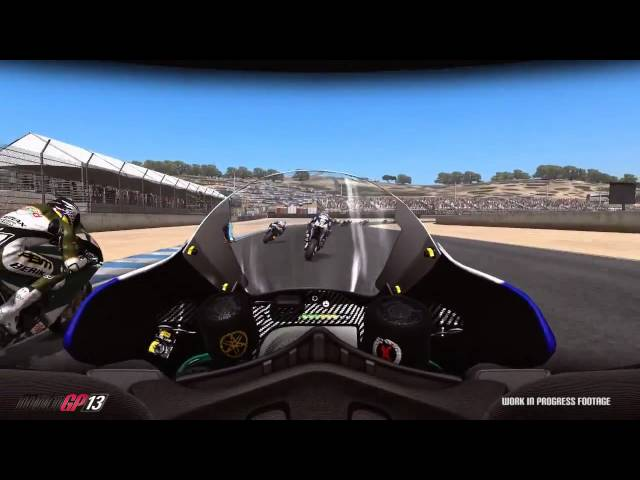 MotoGP 13 Gameplay Video 3  Red Bull U.S. Grand Prix