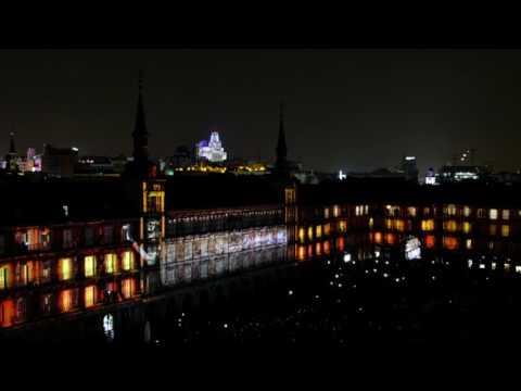 Videomapping IV Centenario de la Plaza Mayor de Madrid