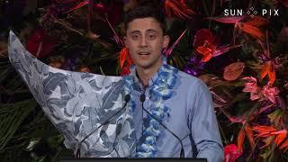 SunPix Pacific Peoples Awards 2018 - Logan Poloai speech