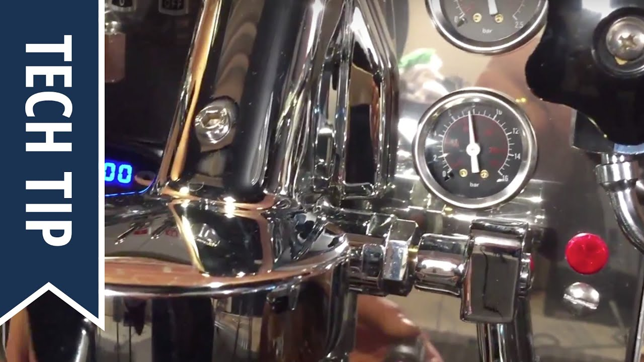 How To Check And Adjust Pump Pressure On Expobar Espresso Machine Water Switch Cuton