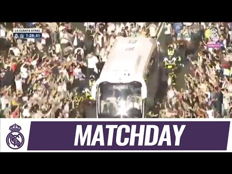Our journey to the Bernabéu before the derby!