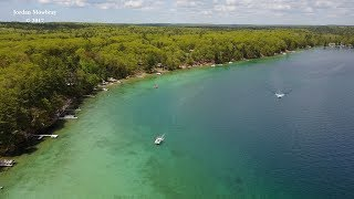 [4K] Drone Footage of Bear Lake Michigan 2017 Grayling  DJI Mavic Pro
