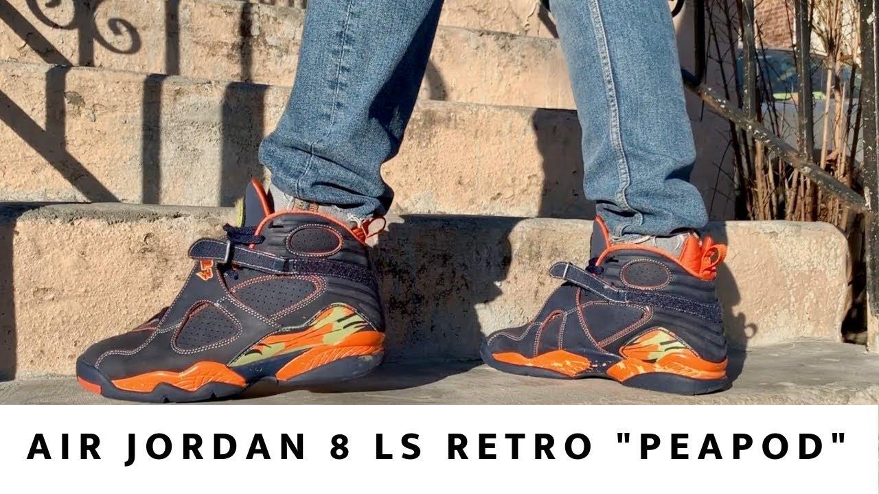 online store edbb6 bff35 Air Jordan 8 Retro LS