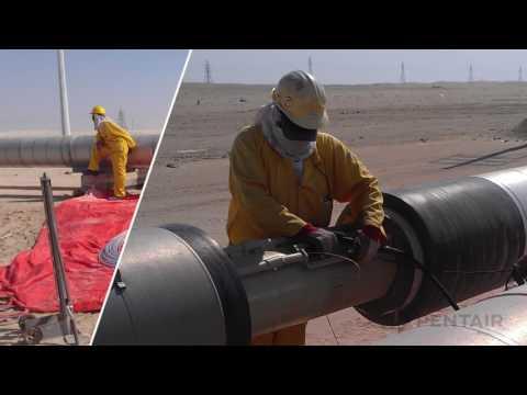 Raychem Skin Effect Heat Tracing System STS Sulphur Pipeline Video