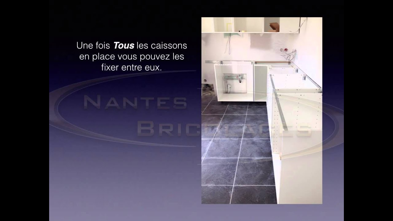 installer une cuisine metod ikea youtube. Black Bedroom Furniture Sets. Home Design Ideas