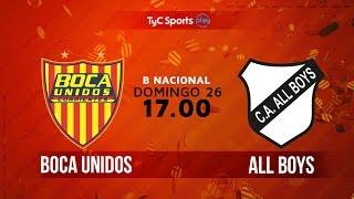 Boca Unidos vs All Boys full match