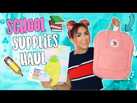 HUGE Back To School Supplies Haul 2018 + GIVEAWAY!!
