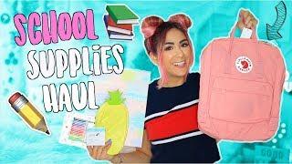 HUGE Back To School Supplies Haul 2018 ...