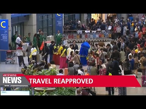 China reapproves group tours, informs travel agencies