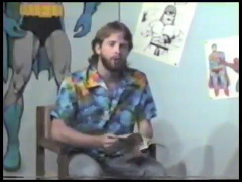 Author Robert Jeschonek Comic Book World 1 From 1985