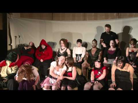 Aaron Glotfelter's Erotic Hypnosis Show 2 At Wicked Faire 2011 Clip 2