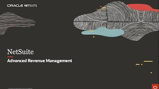 NetSuite Advance Revenue Management