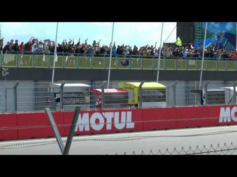 Haarbocht Tribune as Rossi wins the Dutch TT 2015