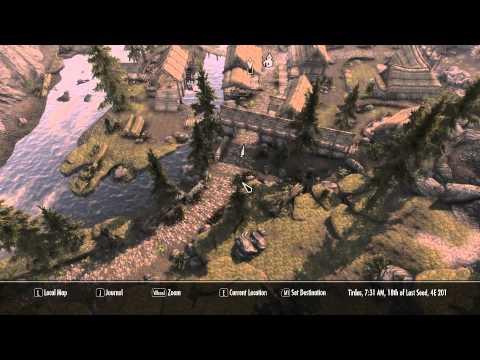 TESV Skyrim - World Map in Full 3D