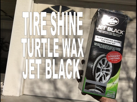 JET BLACK ENDURA SHINE TURTLE WAX REVIEW- SHINE LASTS FOR MONTHS