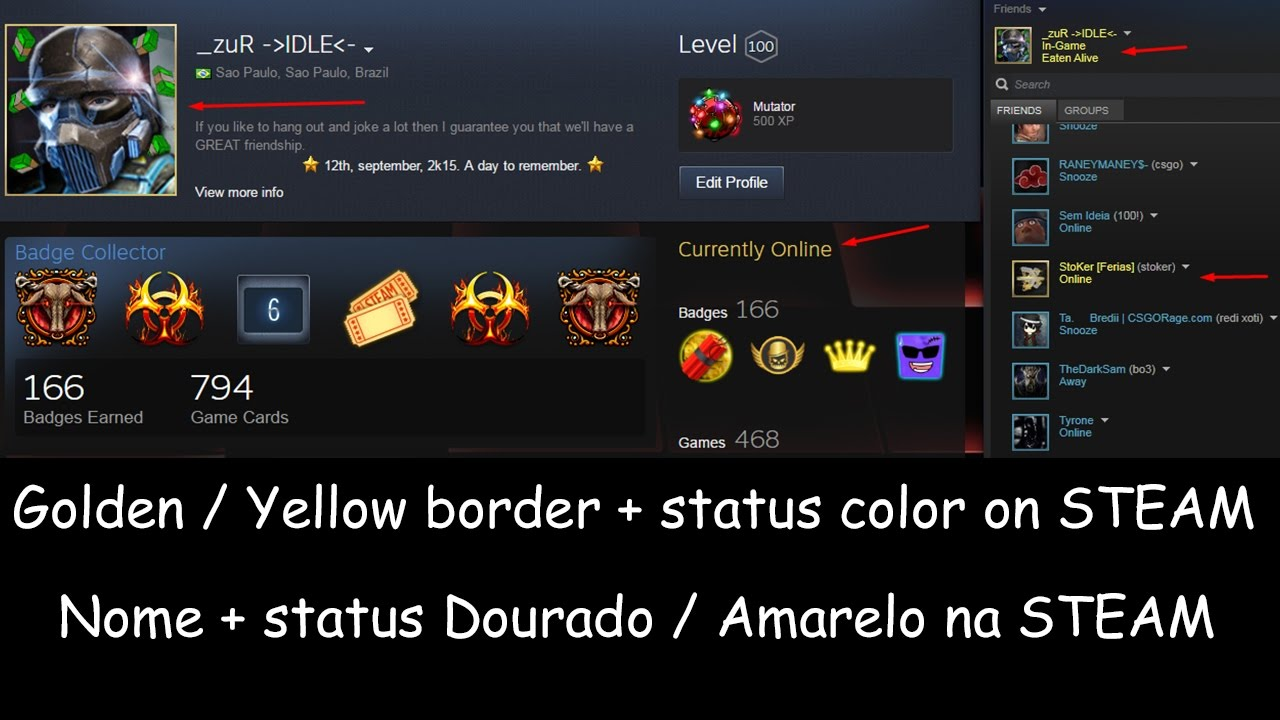 How to get golden yellow steam name como ter nome dourado how to get golden yellow steam name como ter nome dourado amarelo na steam biocorpaavc Images