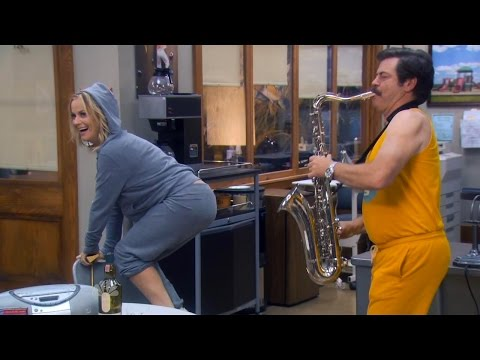 Parks and Recreation - Ron and Leslie tribute. (Buddy - Willie Nelson)
