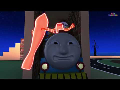 Saving A Horse  Choo Choo Cartoon Train ¦ Toy Factory Train Cartoon Kids Videos for Kids