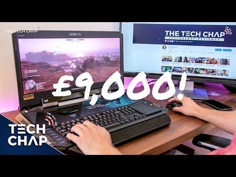 Is Acer's £9,000 Gaming Laptop Any Good? (Predator 21 X Review) | The Tech Chap