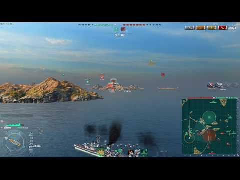 World of Warships - Minsk - Good gunboat