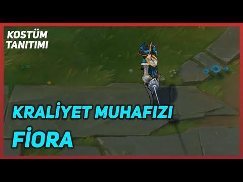 Kraliyet Muhafızı Fiora (Kostüm Tanıtımı) League of Legends