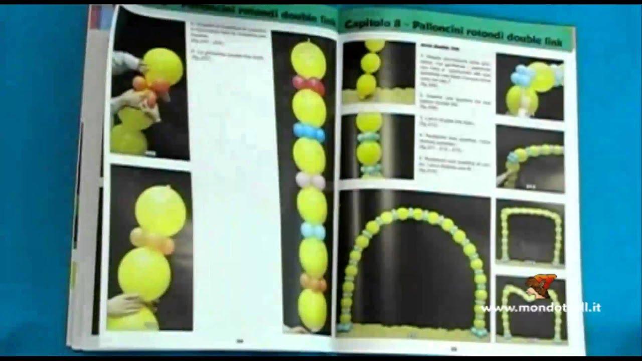 Estremamente 9340 balloon art allestimenti con i palloncini rotondi libro - YouTube OX43