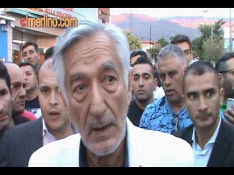 Reclamo por la Salud Publica de los Merlinos al Gobernador Alberto Rodriguez Saa