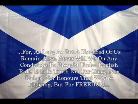 Scottish Anthem & Lyrics (Please Read Description)