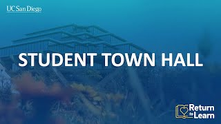 Return to Learn: Student Town Hall (December 8)