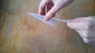 Видео: Как сделать летающий самолет из бумаги своими руками?(Видео показывает, как сделать самолет из бумаги своими руками. Это - крутой бумажный самолетик, который..., 2017-01-23T12:15:35.000Z)