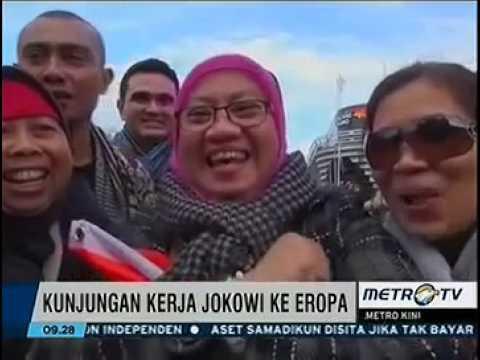Heboh Kunjungan Jokowi Ke Belanda,''inilah presiden paling merakyat''