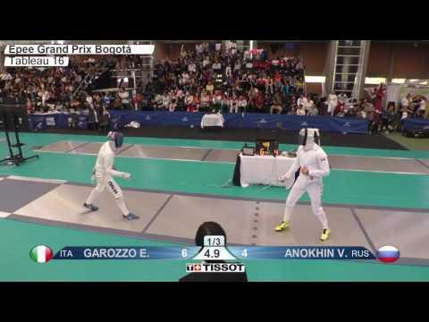 FE M E Individual Bogota COL Grand Prix 2017 T16 06 blue GAROZZO ITA vs ANOKHIN RUS