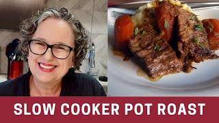 How To Make A Pot Roast In The Crock-pot