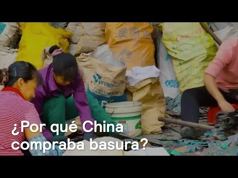 "¿Por qué China compraba basura?"" - Foro Global"