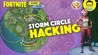 Fortnite Storm Hacking - Fortnite Hack To Good Circles - Solo Gameplay