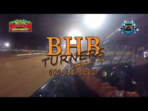 #97 Michael Chilton - Super Late Model - 4-1-17 Smoky Mountain Speedway - In-Car Camera