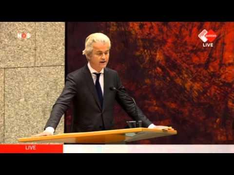 Inbreng Geert Wilders bij het debat over de aanslagen in Brussel (29-03-2016)