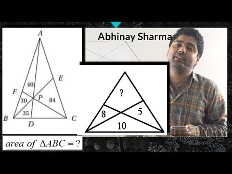 how to solve awesome questions with awesome methods by Abhinay Sharma...Mensuration- 2D part- 3