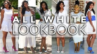 ALL WHITE LOOK BOOK | SUMMER 2016 | BRIDE-TO-BE | ALL WHITE PARTY | CHINACANDYCOUTURE