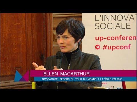 Ellen MacArthur : rencontre autour de l'économie circulaire à La Sorbonne