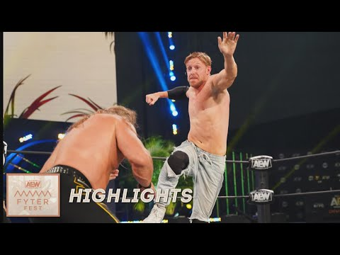 HIGHLIGHTS: ORANGE CASSIDY AND CHRIS JERICHO LEFT NOTHING IN THE RING | FYTER FEST NIGHT 2, 7/8/20