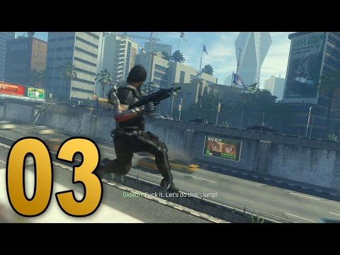 Advanced Warfare Walkthrough - Mission 3 - TRAFFIC (Call of Duty Campaign Let's Play)