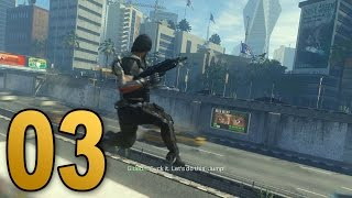 Advanced Warfare Walkthrough - Mission 3 - TRAFFIC (Call of Duty Campaign Let