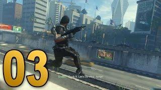 Advanced Warfare Walkthrough - Mission 3 - TRAFFIC (Call of Duty Campaign Let's Play)